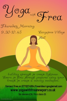 New Yoga Class at Langstone Village Hall