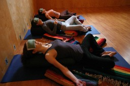 Monthly restorative yoga workshop