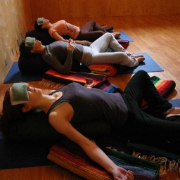 Restorative yoga and meditation workshop Sunday 15 March 6-8pm The Share Centre