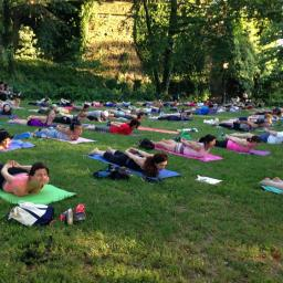 Yoga in the park – International Yoga Day