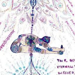 Yin and vinyasa yoga fusion