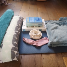 Yoga pantry -how to substitute yoga props in your restorative practice.
